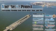 StormSense Project  (City of Newport News, City of Hampton, City of Norfolk, City of Chesapeake, City of Virginia Beach, City of Portsmouth, City of Williamsburg, York County)