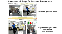 Interactive Interface for Remote Physical Therapy